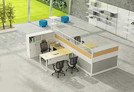 office workstation, office desk