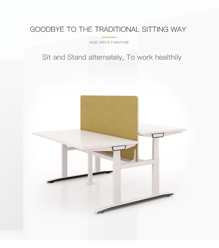 Workstation Elektrischer höhenverstellbarer Schreibtisch