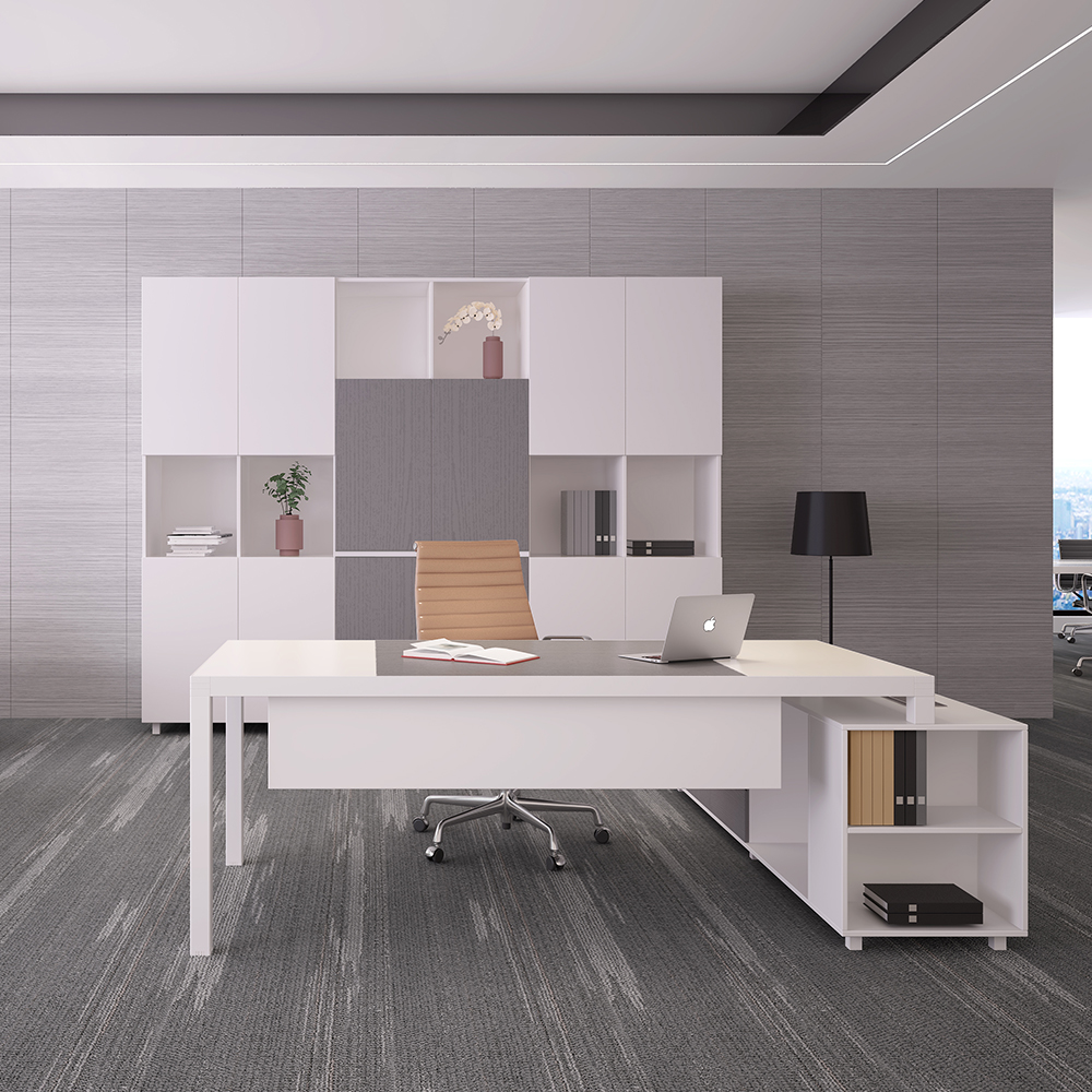 Modern Office Furniture Desk Executive Office Desk With Cabinet