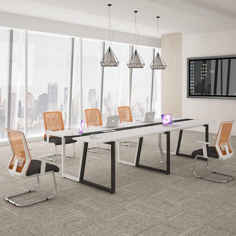 Table de salle de réunion de bureau
