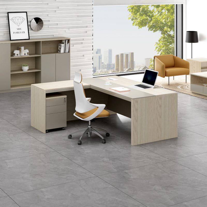 ריהוט משרדי מודרני שולחן שולחן מחשב