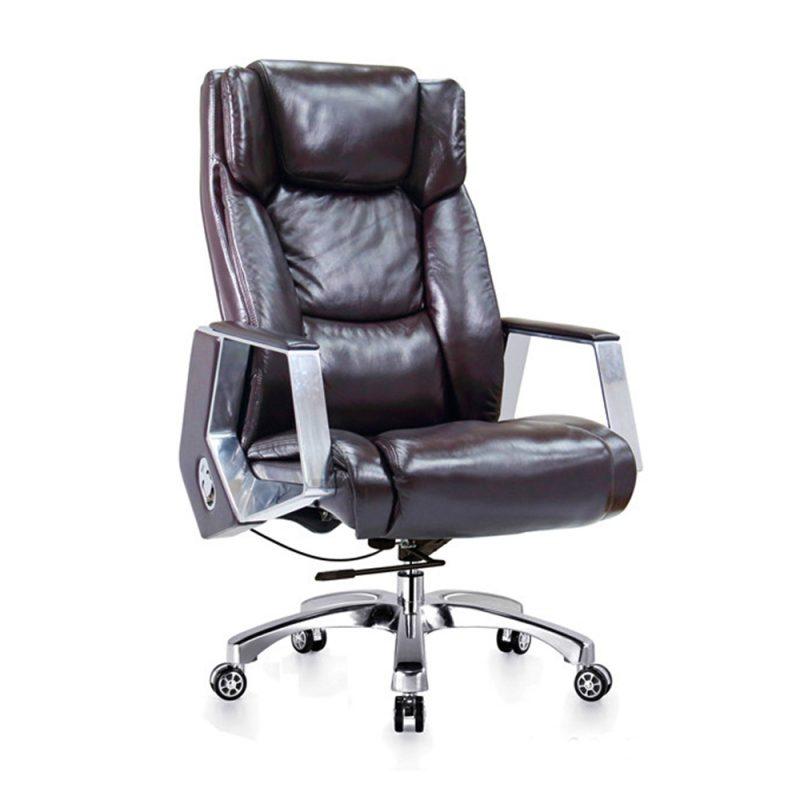 כיסא משרדי בוס מעור PU