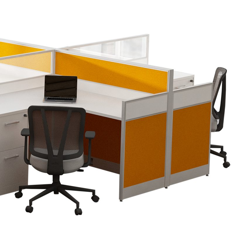 Modern Modular Office Workstation Desk
