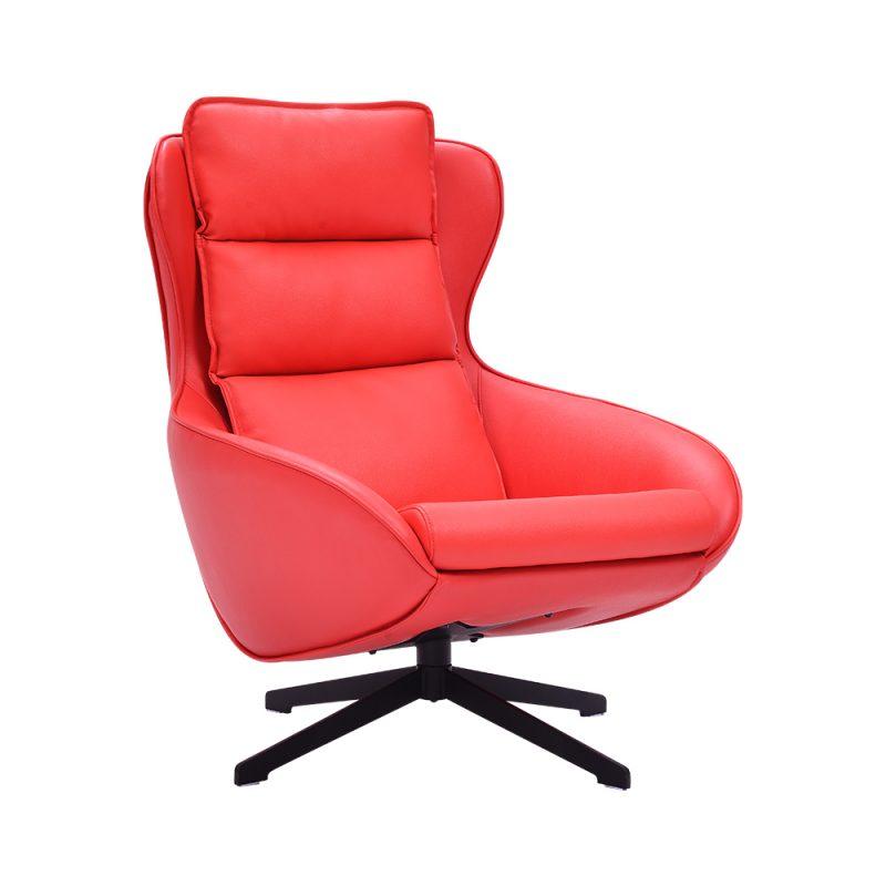 Single Leather Office Sofa