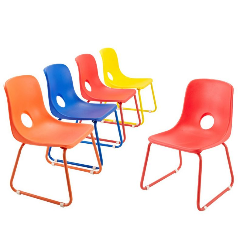 Colorful Outdoor Plastic Chairs
