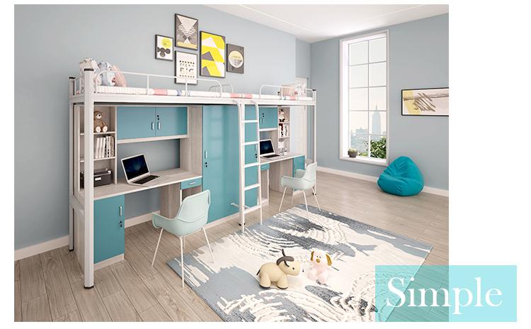 School Home Dormitory Bunk Bed