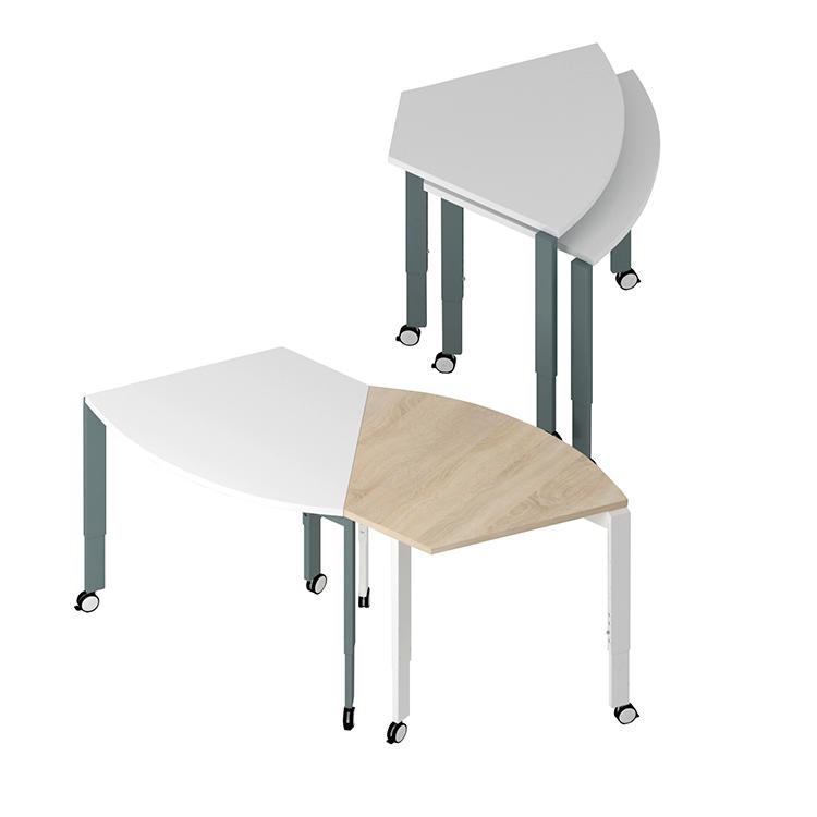 Folding Movable Training Desk