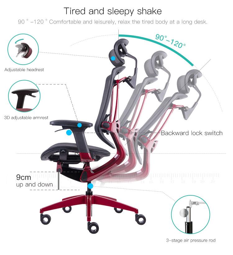 כסאות רשת ארגונומיים