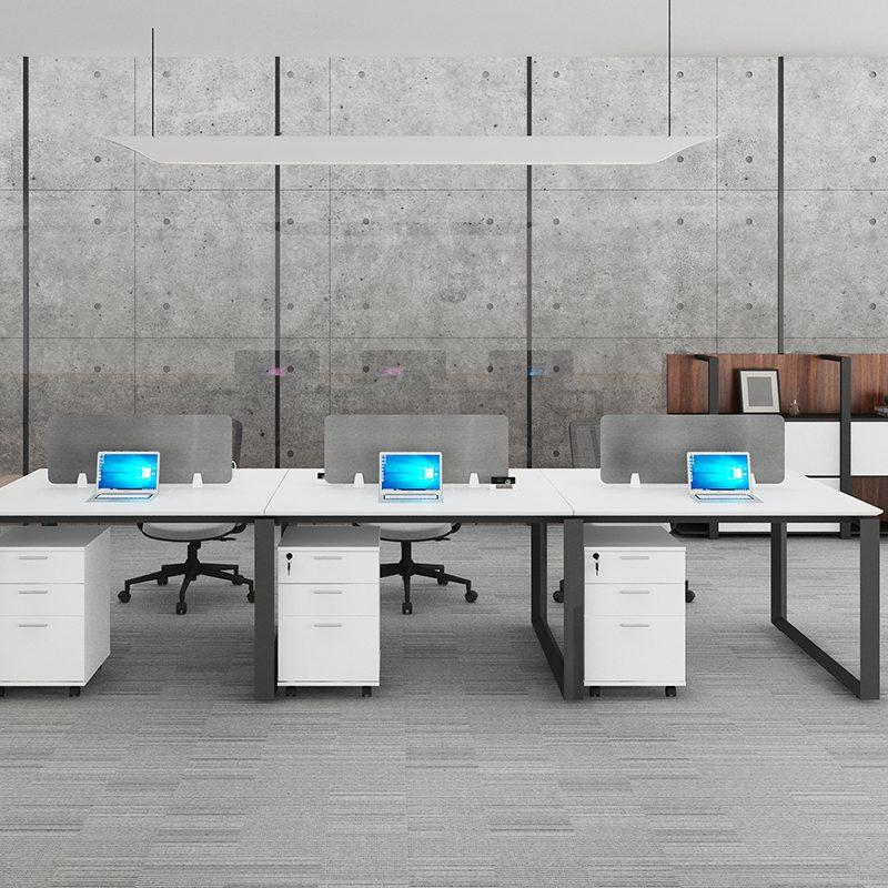 Индивидуальное рабочее место из металла WARNOCK-ZYY-003