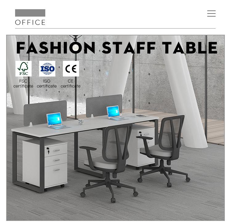 שולחן עבודה תחנת עבודה ריהוט משרדי מודולרי WARNOCK-ZYY-003