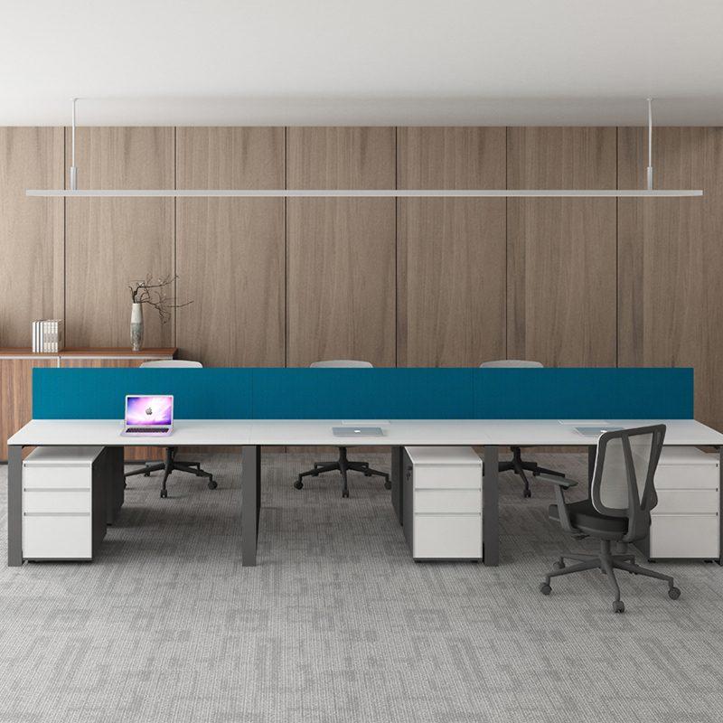 Офисное рабочее место на 4 человека WARNOCK-ZYY-008